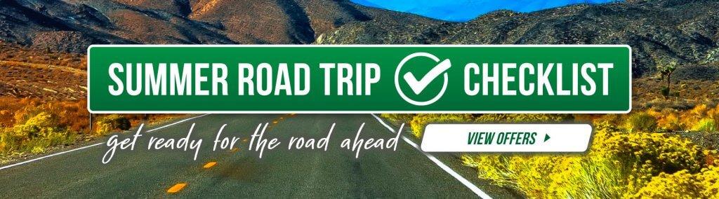Summer roadtrip checklist