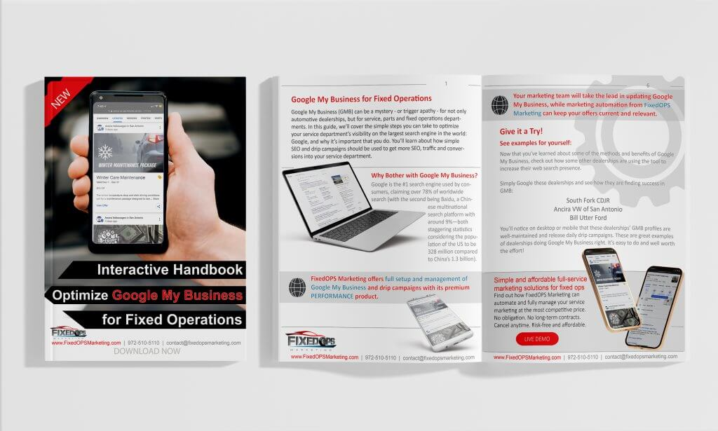 Interactive Handbook: Optimize Google My Business for Fixed Operations