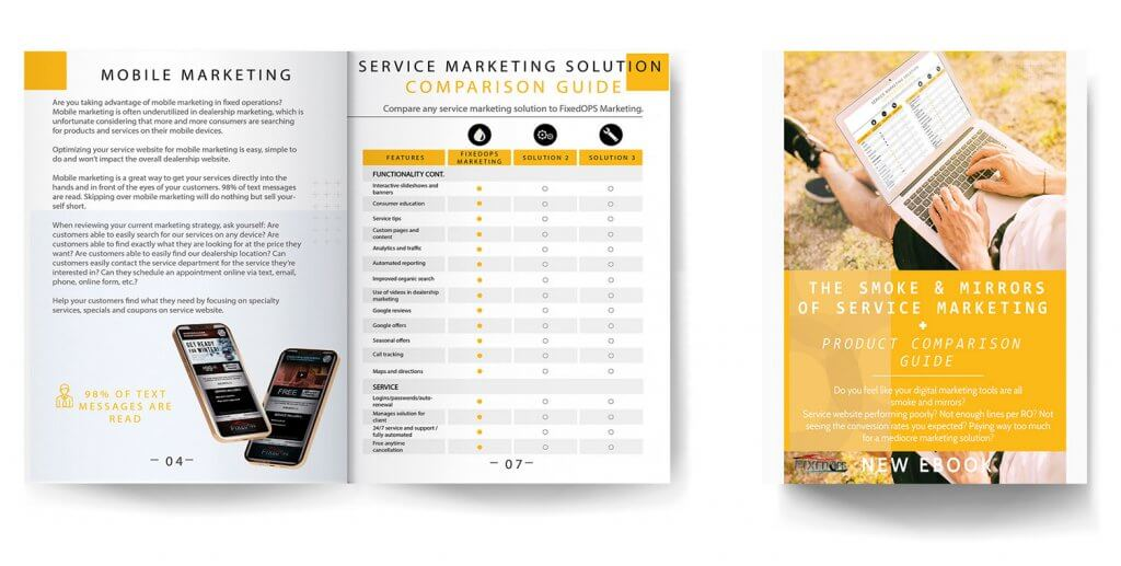 The Smoke and Mirrors of Service Marketing and Product Comparison Guide